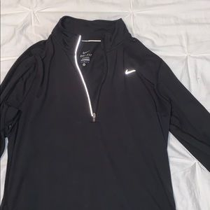 Reflective Nike running pullover